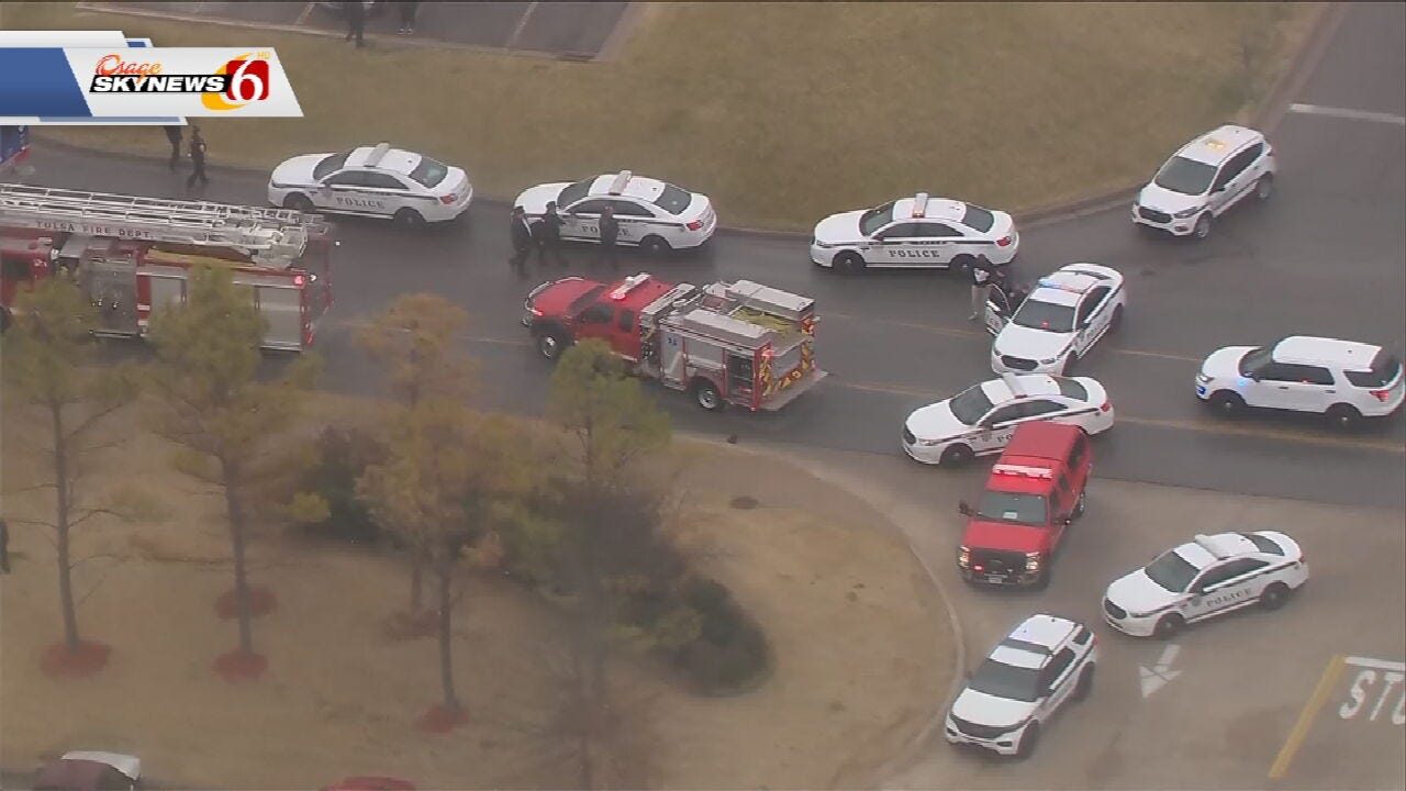 Tulsa Police Respond To Fatal Auto-Pedestrian Crash
