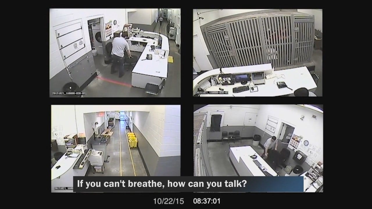 Video Appears To Show Oklahoma Jail Staff Ignoring Pleas From Dying Inmate