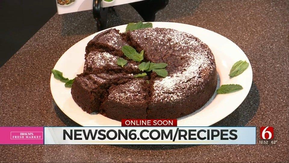 Decadent Avocado-Chocolate Cake