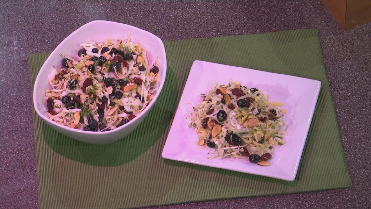 Blueberry Cabbage Salad With Chef Shannon Smith