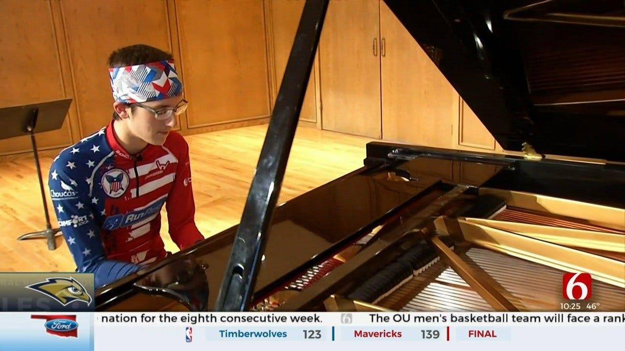 ORU's Andrew Tyson: The Concert Pianist, Snowshoe Racing Champion