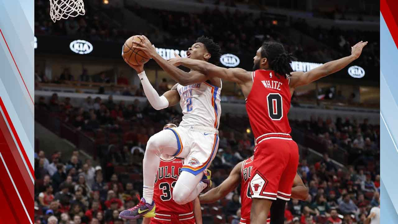 Schroder Helps Thunder Top Bulls 124-122