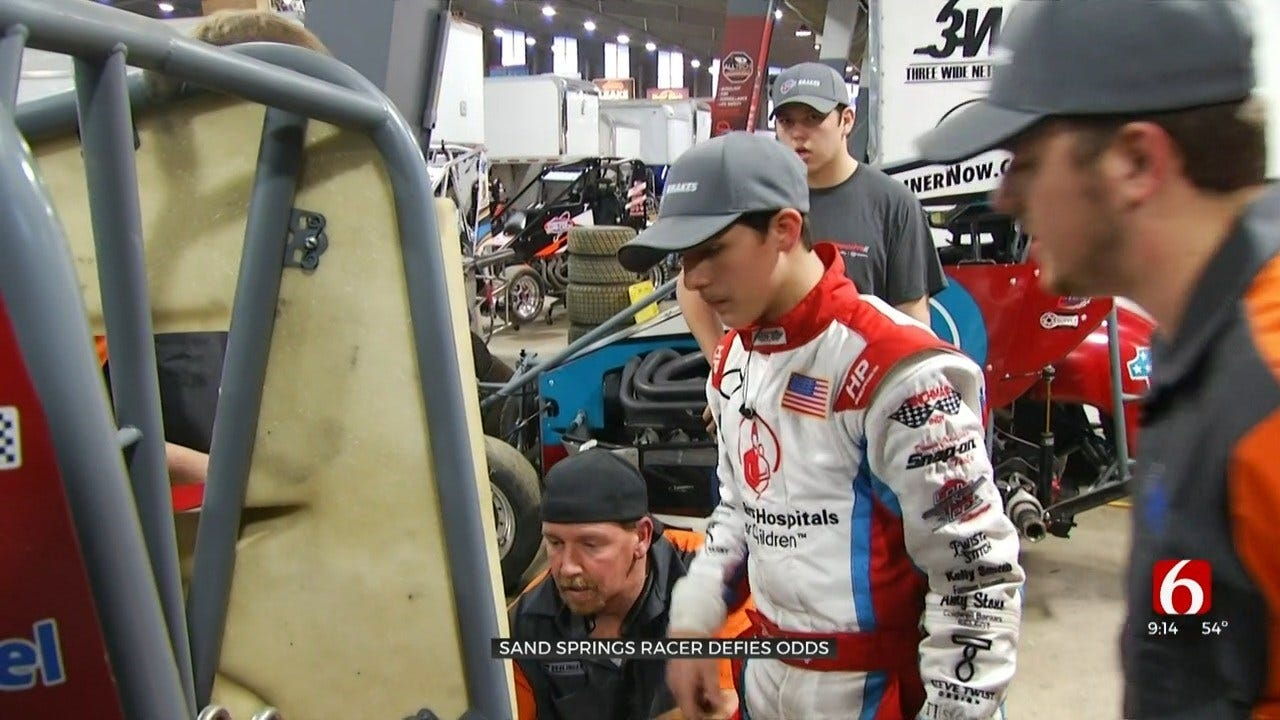 Chili Bowl Nationals Competitor On Mission To Inspire Others