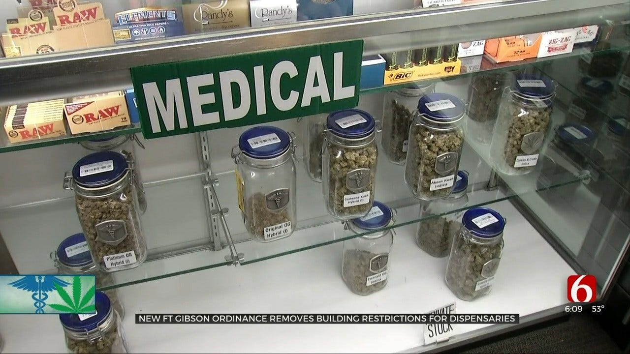 Fort Gibson Changes Ordinance For Medical Marijuana Dispensary Locations