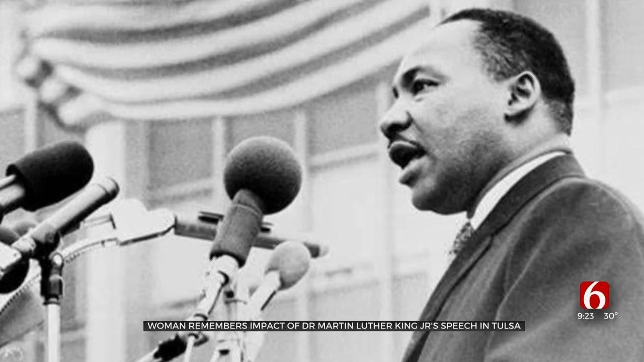Woman Who Attended MLK's Tulsa Speech Says It Impacted Her To This Day
