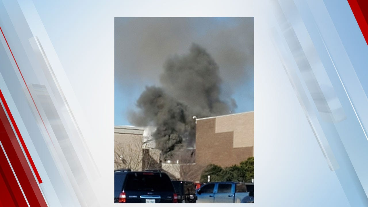 Fire At Quail Springs Mall Forces Evacuation Of Shoppers, Workers