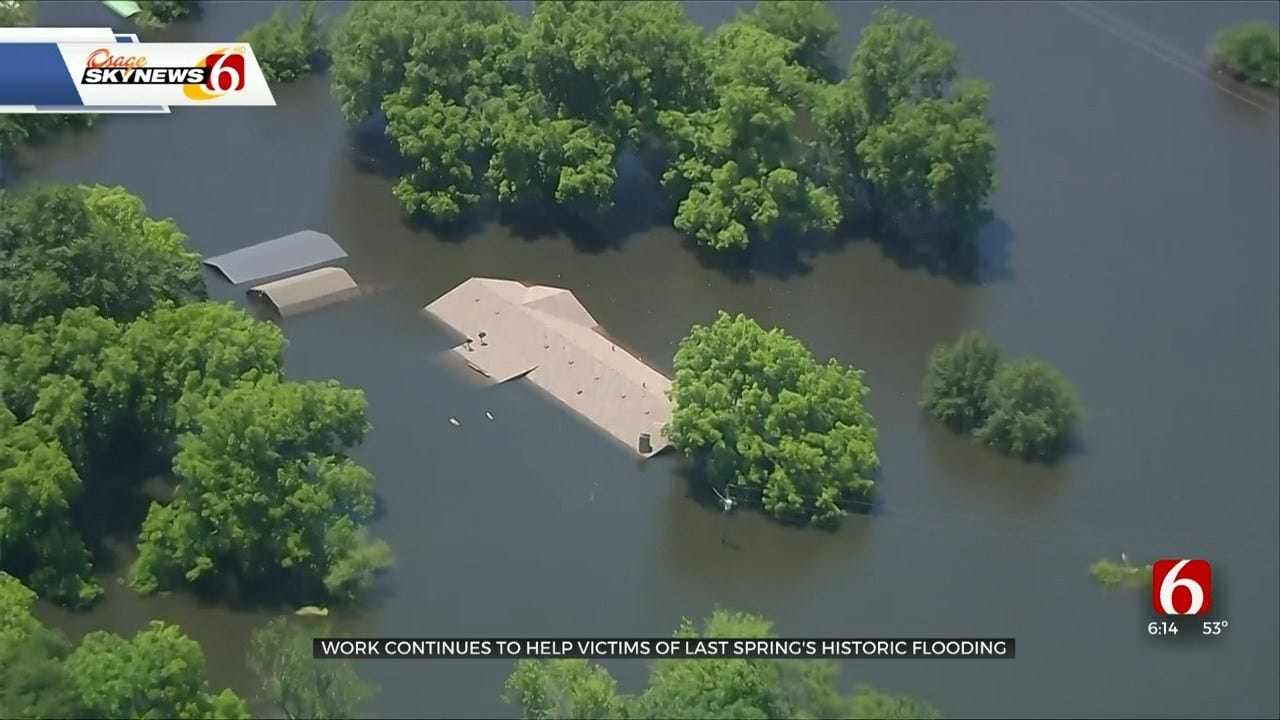 Muskogee Co. Disaster Committee Holds Open Counseling Sessions For Flood Victims