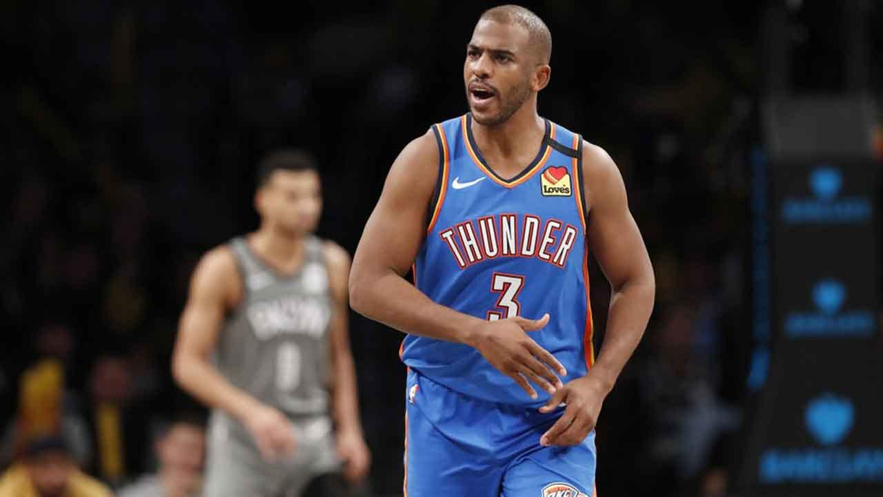Paul Carries Thunder In 4th & OT Of Victory Over Nets