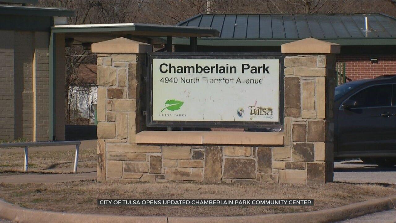 Chamberlain Park Community Center Reopens