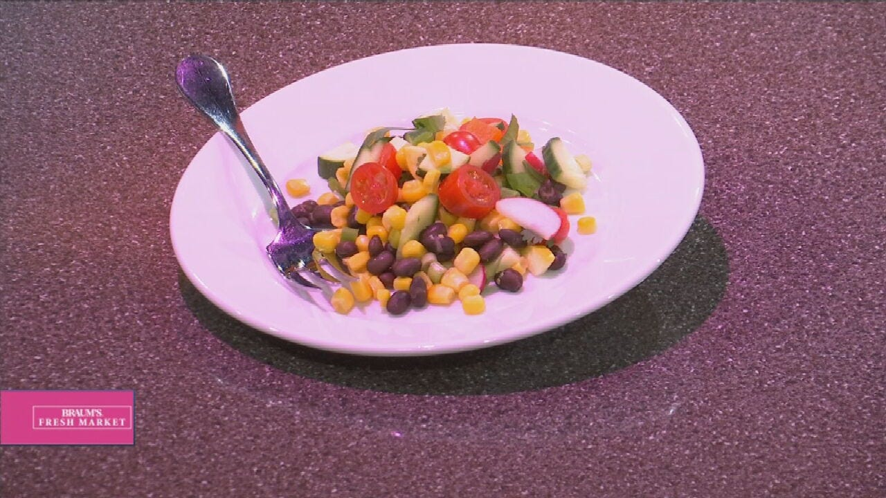 Southwestern Corn & Bean Salad