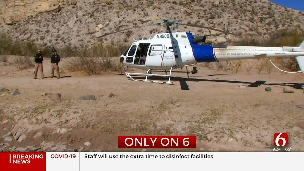Air Enforcement Agents Protect US-Mexico Border, Oklahoma Airspace