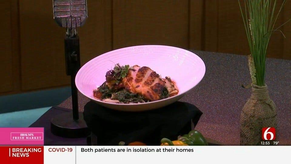 Mole Chicken Pasta