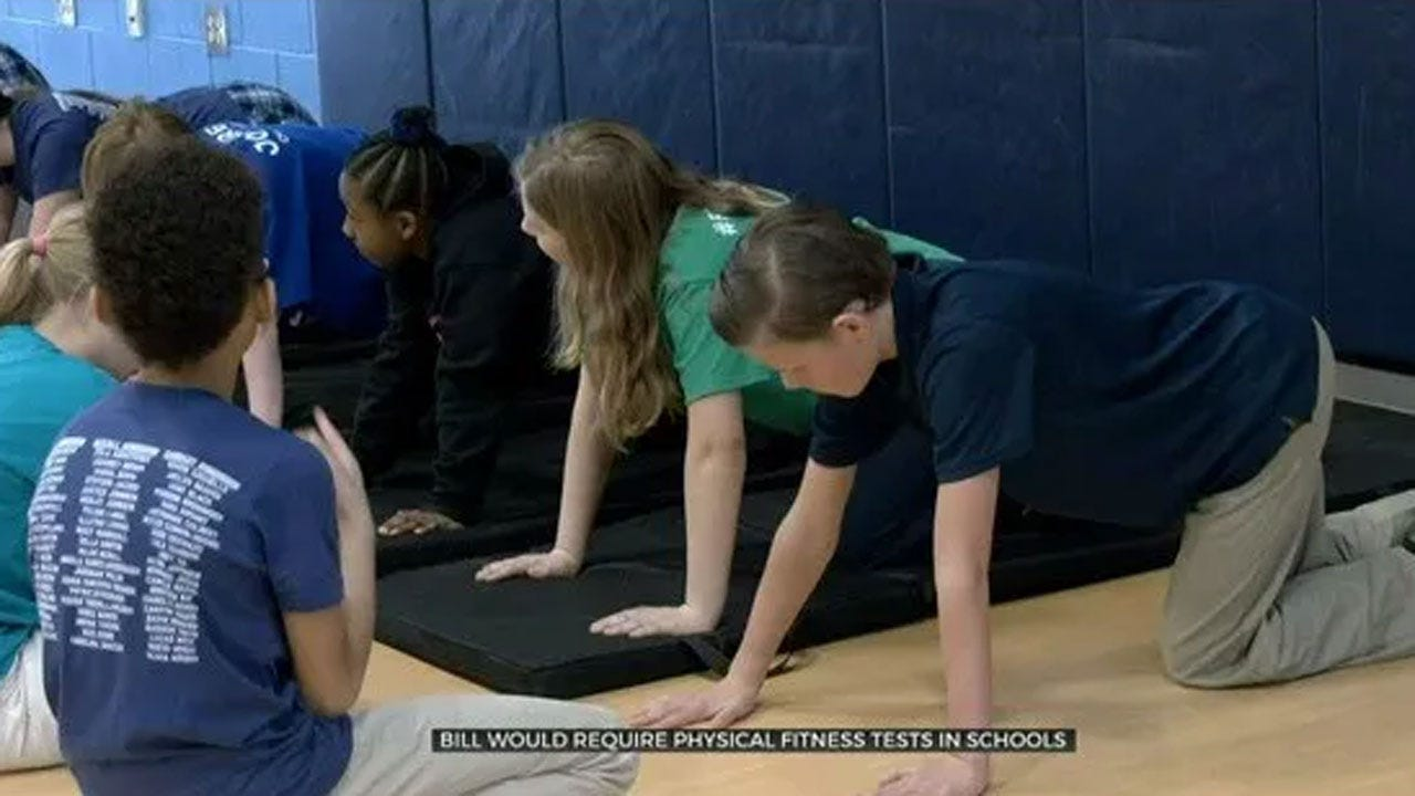 New Bill Would Require School Districts To Have Physical Fitness Tests