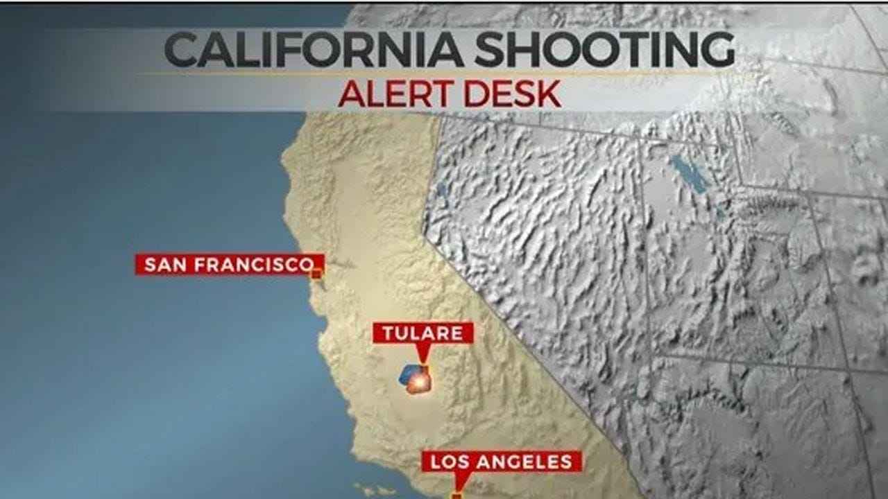 Tulare, California Police: 6 Shot, 1 Killed After Funeral