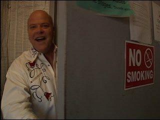 Rex Linn shows off 'CSI Miami' set