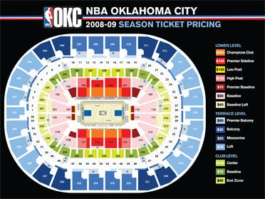 OKC team releases ticket information