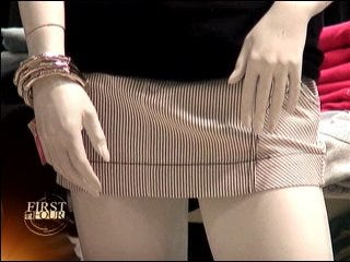 Skimpy clothing a trend for teens