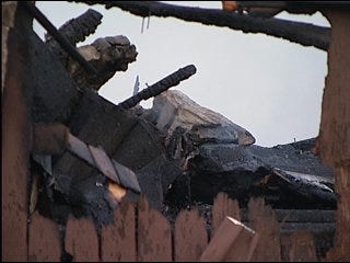 Office building destroyed by metro fire