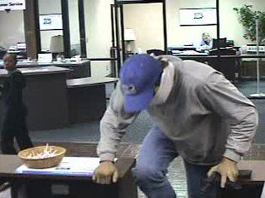 Midwest City bank robbed