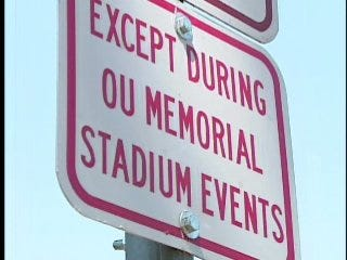Parking regulations change for game days