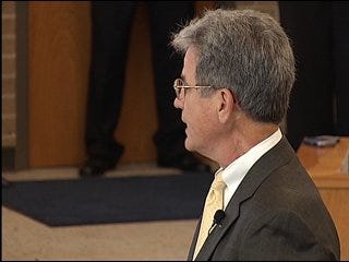 Sen. Tom Coburn returns to Oklahoma