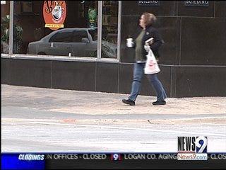 Icy Sidewalks Result in Emergency Room Trips