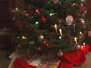 Family's Christmas Ransacked By Burglar