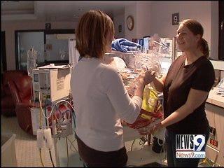 Healing Mother Tends to Neonatal ICU