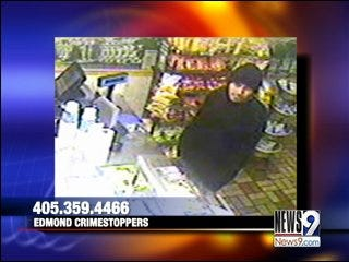 Edmond Police Search for Alleged Armed Robbery Suspect