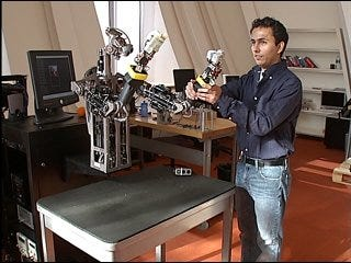 Robot trained to help with household chores