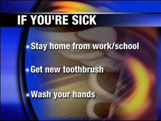 Avoid the flu bug