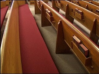 Church services canceled due to flu
