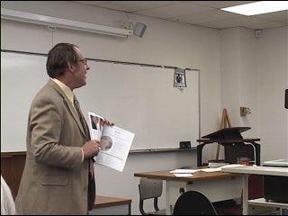 Honoring February's Teacher of Distinction