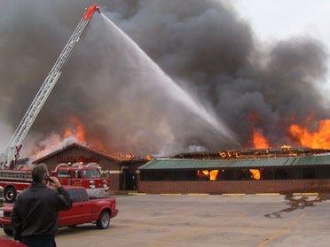 Altus restaurant engulfed in flames