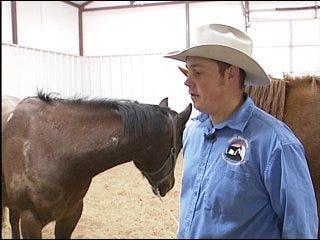 Horseback journey for good cause