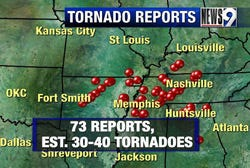 Death toll from tornado outbreak hits 55