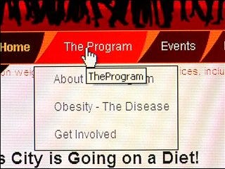 Oklahoma City on a diet Web site offers updates