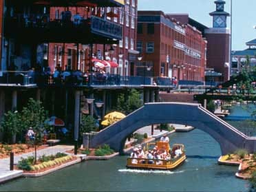 The history of Bricktown