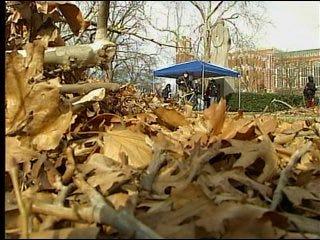 OU begins campus cleanup