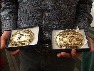 Oklahoman wins rodeo rookie award