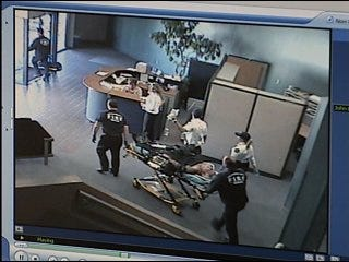 Coworkers save man's life