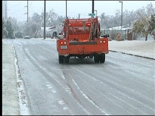 Governor seeks federal aid for ice storm damage