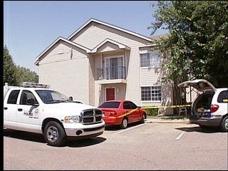 Children at home when man shot to death