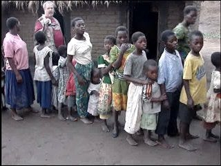 Two metro couples feed hundreds in Africa