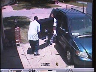 Burglary suspects caught on tape