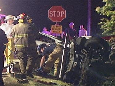 Man killed after truck runs stop sign, deputies say