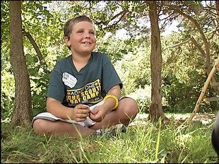 Cub Scout saves life, receives honor