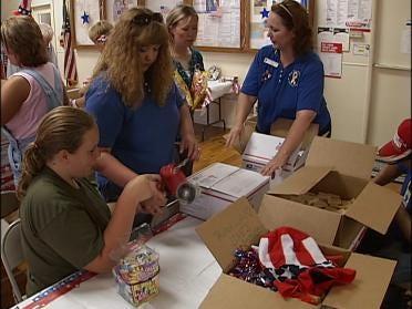 Baby's birthday gifts head to Iraq
