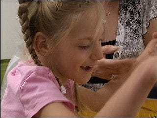 Family travels overseas for daughter's treatment