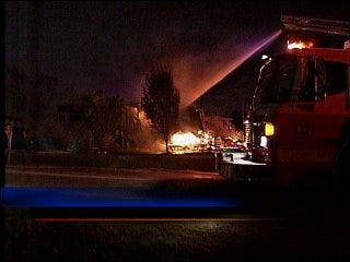 Man severely burned in house fire identified